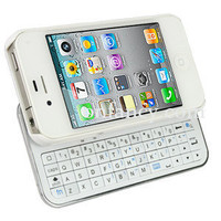Sliding White Bluetooth Keyboard+Ha.. on Luulla