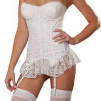 Romantic White Bridal Lingerie Set