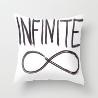 Infinite   Throw Pillow by Sjaefashion | Society6