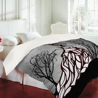 Amy Smith Lost In The Woods Duvet Cover - Queen