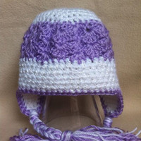Lavender Lush  Pearly white and silky by HookinItbyBellaBeanz