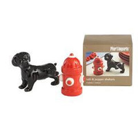 Product Details - Dog & Fire Hydrant Salt & Pepper Shakers