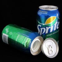 Sprite Soda Diversion Safe Can Stash Free Pack of 1 1/4 Rasta Wrap