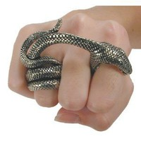 Amazon.com: Adder Bite Alchemy Gothic Snake Ring - size 6: Alchemy of England: Jewelry