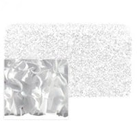 Shaggy Raggy White Jersey Cotton Rug