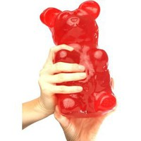 Giant Gummy Bear 5 Pounds - Cherry Flavored Giant Gummy Bear: Amazon.com: Grocery &amp; Gourmet Food