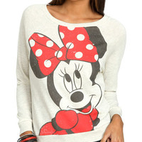 Minnie Bow Sweatshirt | Shop Just Arrived at Wet Seal