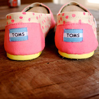Glow In The Dark Toms, made to order