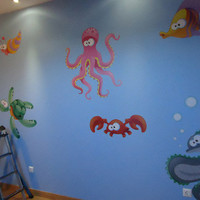 Nursery, kids Decals - Aquarium