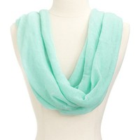 Lightweight Woven Solid Infinity Scarf: Charlotte Russe