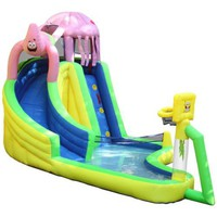 Amazon.com: Sportcraft SpongeBob and Friends Waterslide with Sports Center: Sports & Outdoors