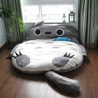 Big Huge Cute 2011 Models 220CM Totoro Bed Sleeping Bag Sofa Christmas Gift Kid