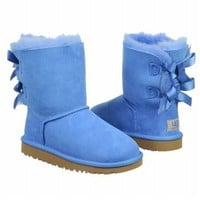 Amazon.com: UGG Australia Children's Bailey Bow Toddler Suede Boots: Shoes