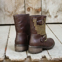 Harper Studded Boots, Sweet Bohemian Boots &amp; Shoes