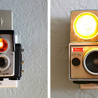 Vintage Camera Nightlights | Accessories | Home