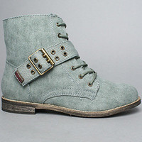 The Commando Boot in Olive : Rebels Footwear : Karmaloop.com - Global Concrete Culture