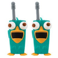Amazon.com: Phineas And Ferb Perry-Diculously Cool Walkie Talkies: Toys & Games