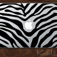 zebra - Vinyl Laptop Decal