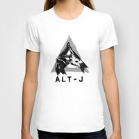 alt-j ∆  T-shirt by TwO Owls   Society6