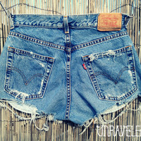 High Waisted Shorts (SMALL)