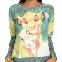Lion King Sublimation Sweatshirt
