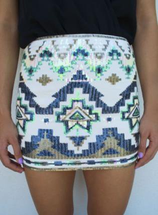 Skirt: tribal aztec mini skirt, tribal pattern skirt, shirt, colorful, tubeskirt, tube skirt.