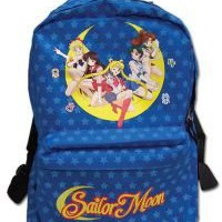 Sailor Moon Sailor Soilders Starry Back Ground Back Pack