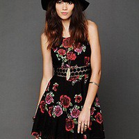 Free People Clothing Boutique > Daisy Waist Print Dress