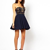 TFNC Prom Dress With Jewel Bustier at asos.com
