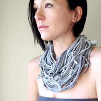 SHAG COTTON SCARF designed by Tania of EcoShag in...