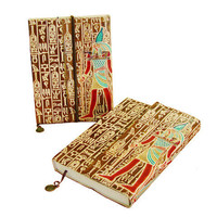 Pree Brulee - Handmade Egyptian Heiroglypics Journal