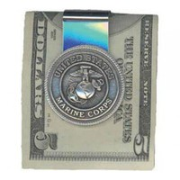 USMC Money Clip | Mens Accessories | Mens | Sgt Grit - Marine Corps Store