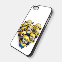 Despicable Me The Minions All Friends NDR 204 - iPhone 4, iPhone 4s, and iPhone 5 Case