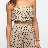 Urban Outfitters - Fire Polka Dot Bandeau Top