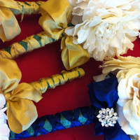 Handmade glamorous wedding bouquets