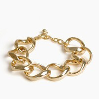Gold Linked Chain Bracelet @ FrockCandy.com