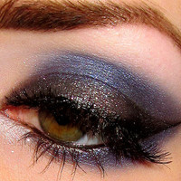 Get this look 3 pc set (Goodnight, SnowGlobe, U Rock) Eyeshadow Mineral makeup Eye shadow Eyeliner (5g)