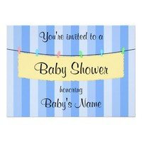 Baby Shower Invite Template from Zazzle.com