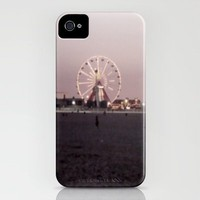 Farris Wheel at Night iPhone Case by Jessica Natale | Society6