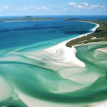 It's a Wonderful World / One of my favorite places in the world. Whitehaven Beach, Whitsunday Islands in Australia