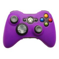 Amazon.com: HDE® Silicone Skin fits Xbox 360 Controller - Purple: Video Games