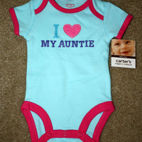 Carter's LOVE AUNTIE Aun...