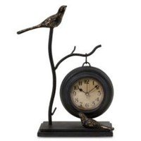 One Kings Lane - Finishing Touches - Bird and Branch w/ Hanging Clock