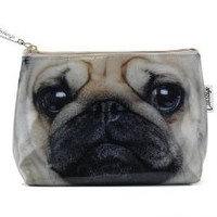 Pug - Make Up Bag / Wash Bag by Catseye:Amazon:Shoes & Accessories