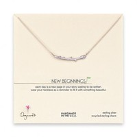 Dogeared Branch Necklace (Silver)