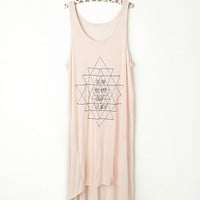 Free People Mixed Rib Sleepy Tunic