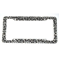 Cheetah License Plate Frame (Made Of Plastic) : Amazon.com : Automotive