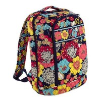 Vera Bradley Laptop Backpack in Happy Snails