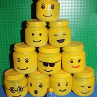 Crafts with the Kids in mind. / Lego  Favor holder idea