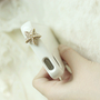 Cute SPARKLE CRYSTAL PEARL STARFISH IPHONE Cell Phone Dust DUSTPROOF PLUG